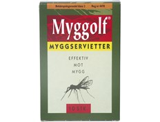 Myggolf Myggservietter 10 pk