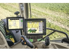 Tilleggsdisplay for traktor