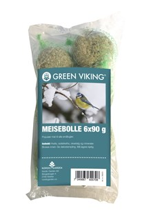 Green Viking Meiseboller 6-pk