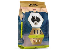 Appetitt Puppy medium breed hundefôr  3 kg