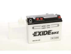Exide MC Batteri 6 Volt 12Ah