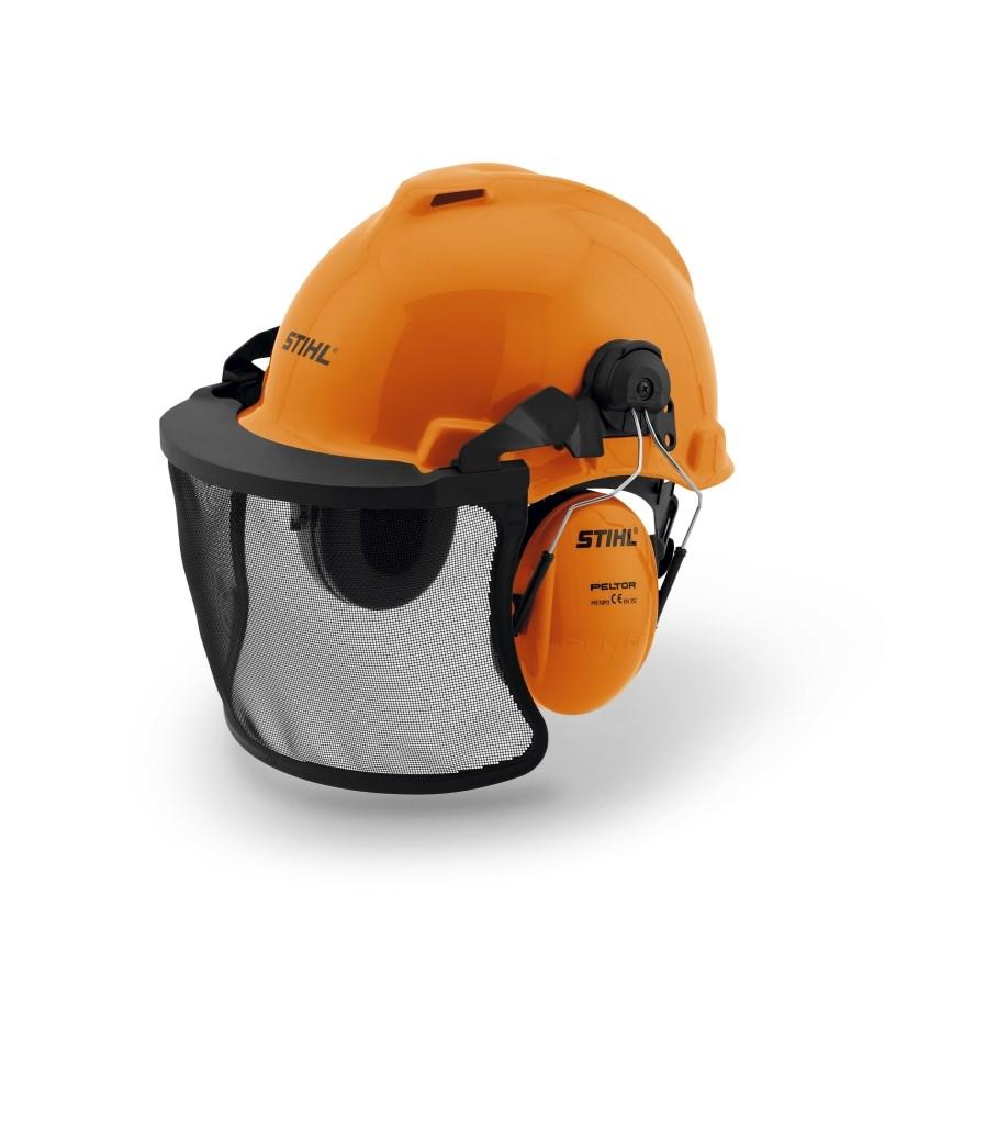 fe63de62a Stihl Hjelm med hørselvern og visir