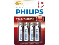 Philips Batteri Powerlifte AA 4pk