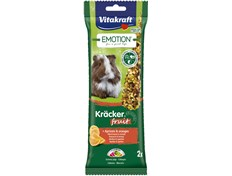 Vitakraft Emotion Marsvin Kräcker  frukt