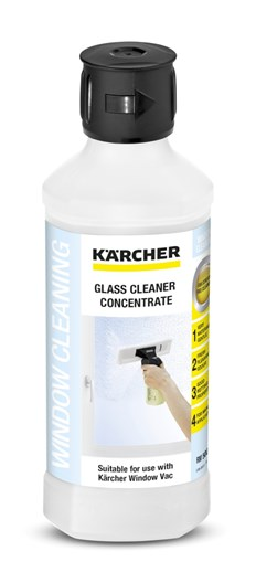 Kärcher Glass rengjøringsmiddel konsentrat 500 ml