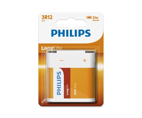 Philips Batteri Longlife 3R12 4,5V
