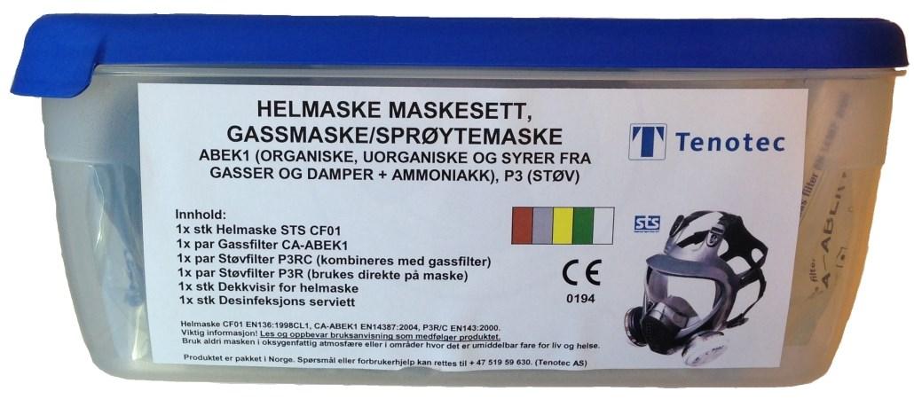 774d3015 Felleskjøpet nettbutikk - STS Startpakke Helmaske med tilbehør