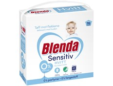 Blenda Sensitive hvit tøyvaskemiddel 4,3 kg