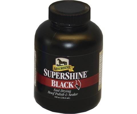 Absorbine Supershine Hoofpolish svart hovolje 236 ml