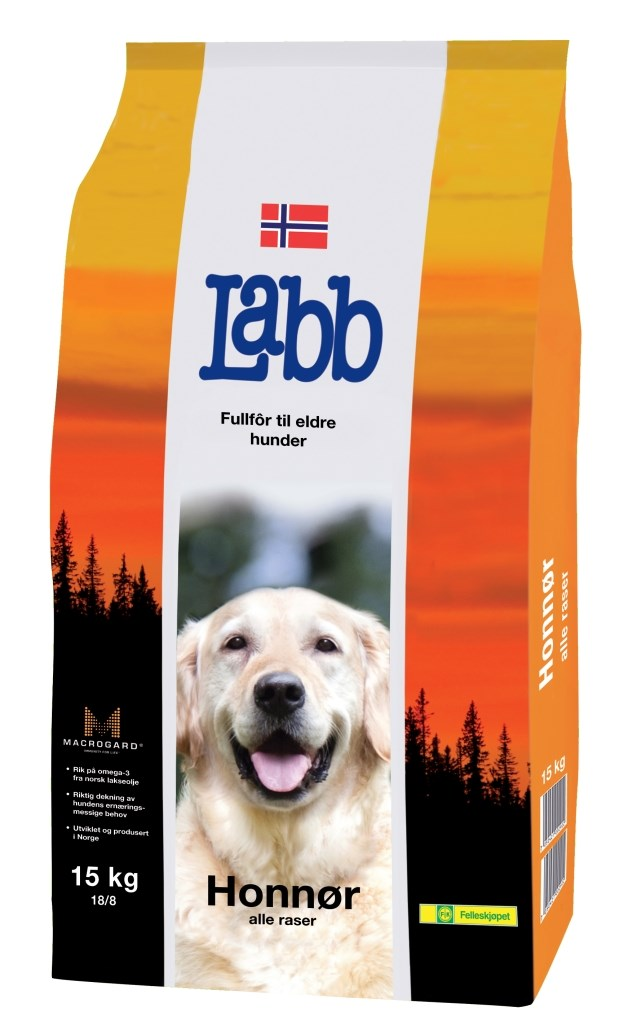 65bc69762 Labb Hundefôr Honnør 6 kg