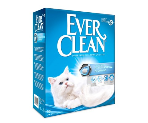 Ever Clean Extra Strong Clumping kattesand 10 L