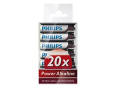 Philips Batteri Power Alkaline AAA 20pk