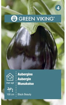 Green Viking Frø Aubergine black beauty