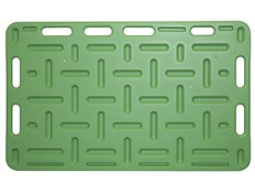 Drivplate for gris 126x76 cm