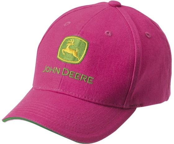 4a21bd51a John Deere Caps rosa barn