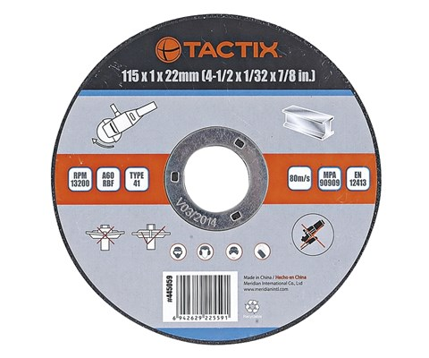Tactix kutteskive metall 115 mm