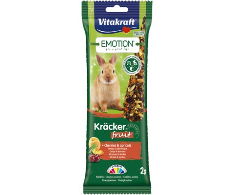 Vitakraft Emotion Kanin Kräcker  frukt