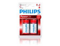 Philips Batteri Powlerlife C LR14
