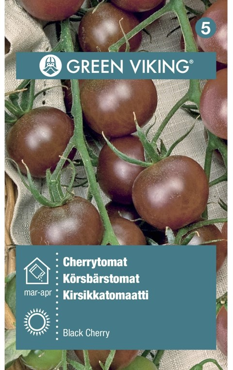 Green Viking Frø Cherrytomat black cherry