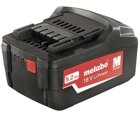 Metabo Batteri Li-Power 18 V 5,2 Ah