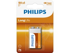 Philips Batteri Longlife 9V