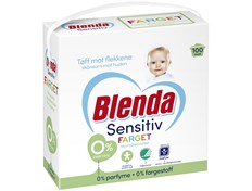 Blenda Sensitiv color tøyvaskemiddel 4,3 kg