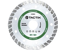 Tactix Kutteskive Diamant Turbo 115 mm