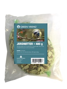 Green Viking Jordnøtter 480 g