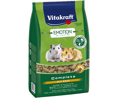 Vitakraft Emotion Complete hamsterfôr 800 g