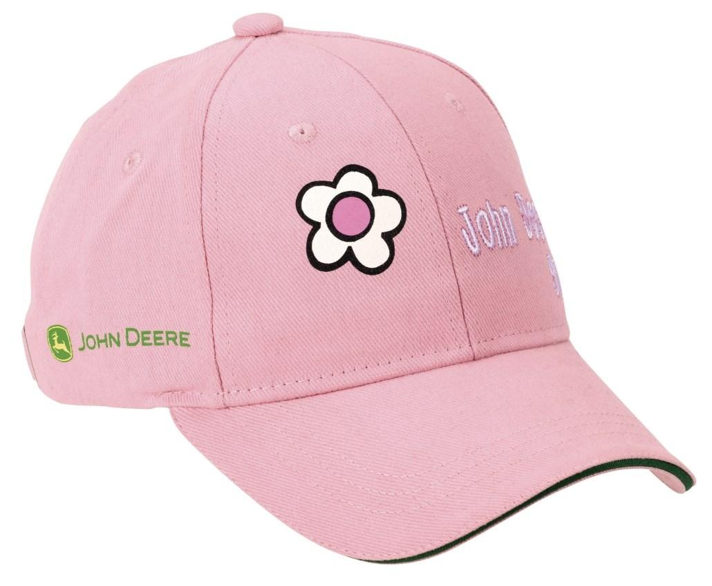 542e5df58 John Deere Caps med blomster barn
