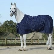 Bucas Irish Stable Navy/Silver stalldekken