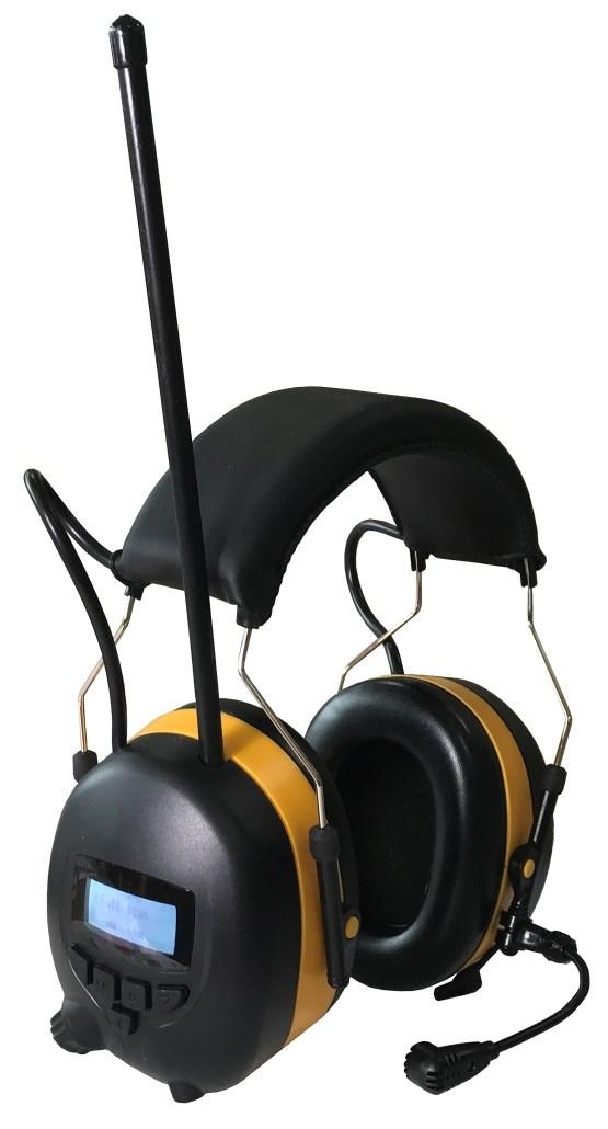 Flott Felleskjøpet nettbutikk - Safer Hørselvern med DAB og Bluetooth NP-86