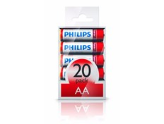 Philips Batteri Powerlife Alkaline AA 20pk