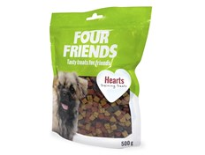 FourFriends Hearts hundegodbiter 500 g