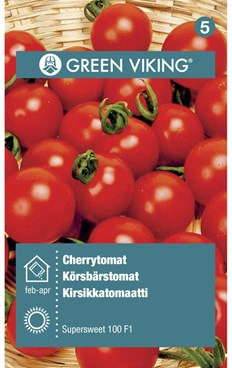 Green Viking Frø Cherrytomat supersweet