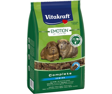 Vitakraft Emotion Marsvin Complete Senior 800 gr